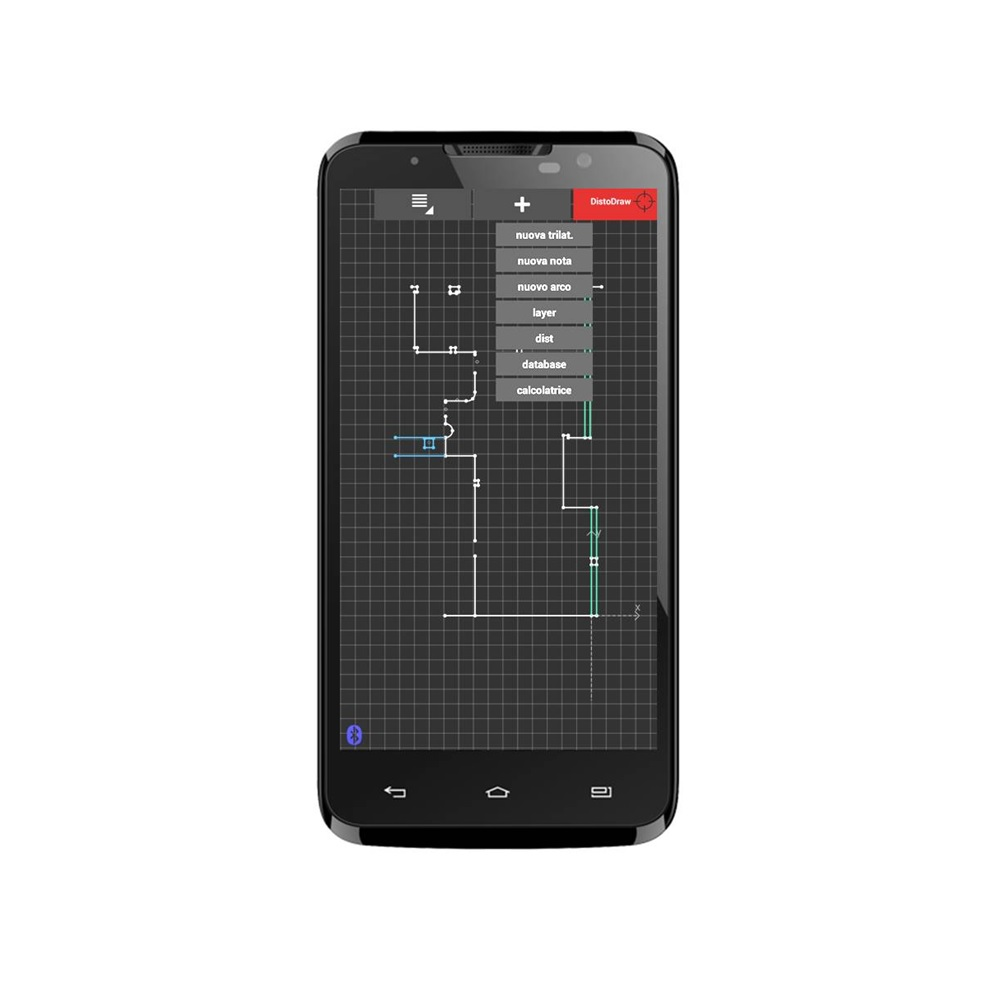 DistoDraw per Android