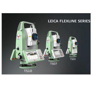 FlexLine TS03 / TS07 / TS10 – Le nuove stazioni totali Leica